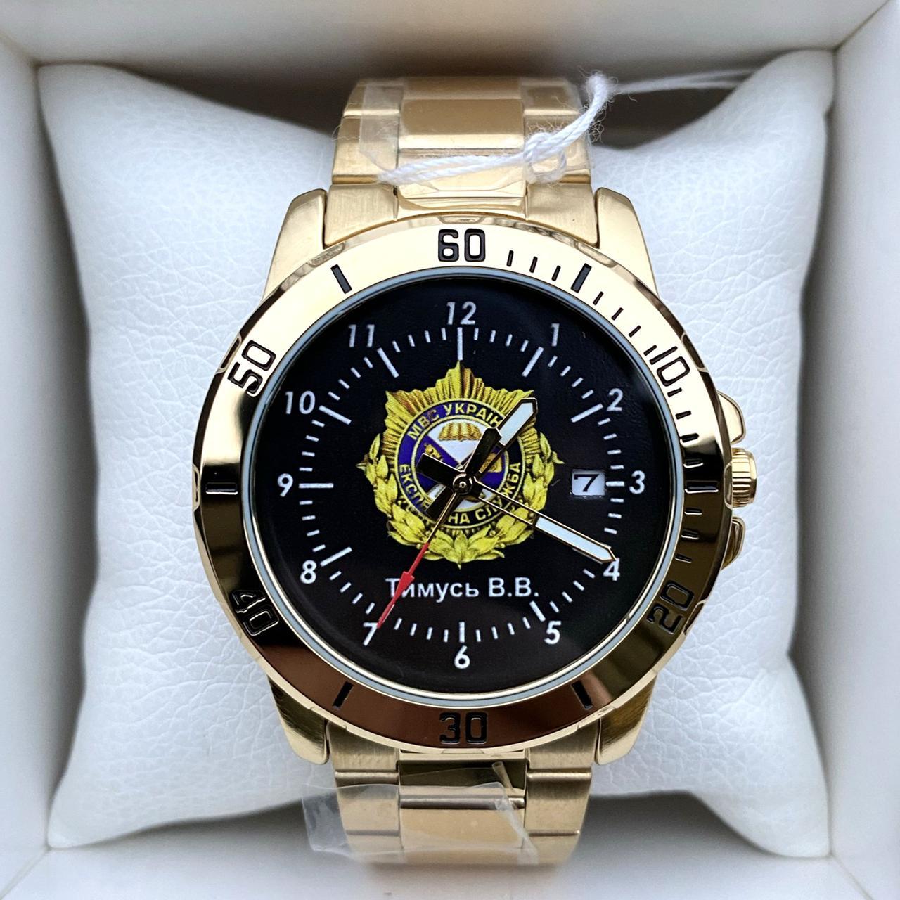 Годинник наручний Casio з логотипом Експертна служба МВС