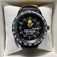 Годинники наручні з логотипом НГУ (Національна гвардія України), фото 1