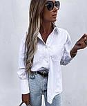 Модная рубашка женская с длинным рукавом, фото 3