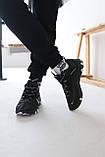 Кроссовки мужские Nike react element Black Найк Реакт Элемент чёрные, фото 6