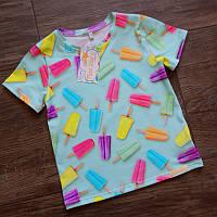 Детская футболка морожено Five Stars KD0455-122р