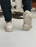 Кроссовки мужские Adidas Yeezy 500 Desert Rat Blush Адидас Изи 500  реплика, фото 5
