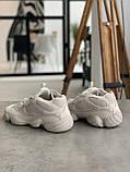 Кроссовки мужские Adidas Yeezy 500 Desert Rat Blush Адидас Изи 500  реплика, фото 6
