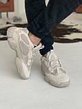 Кроссовки мужские Adidas Yeezy 500 Desert Rat Blush Адидас Изи 500  реплика, фото 7