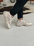 Кроссовки мужские Adidas Yeezy 500 Desert Rat Blush Адидас Изи 500  реплика, фото 8
