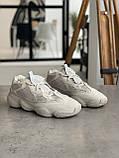 Кроссовки мужские Adidas Yeezy 500 Desert Rat Blush Адидас Изи 500  реплика, фото 9