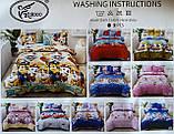 Покрывало одеяло стеганое на кровать или диван  Koloco 160*210см  с наволочками 50*70см Размер Полуторный, фото 4