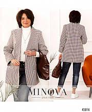 Жіночий піджак - №17245-1, у розмірах 48-62