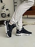 Кросівки Nike react element white logo Найк Реактив Елемент Білий логотип, фото 9