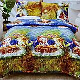 Покрывало одеяло стеганое на кровать или диван  Koloco 160*210см  с наволочками 50*70см Размер Полуторный, фото 3