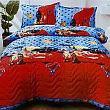 Покрывало одеяло стеганое на кровать или диван  Koloco 160*210см  с наволочками 50*70см Размер Полуторный, фото 2