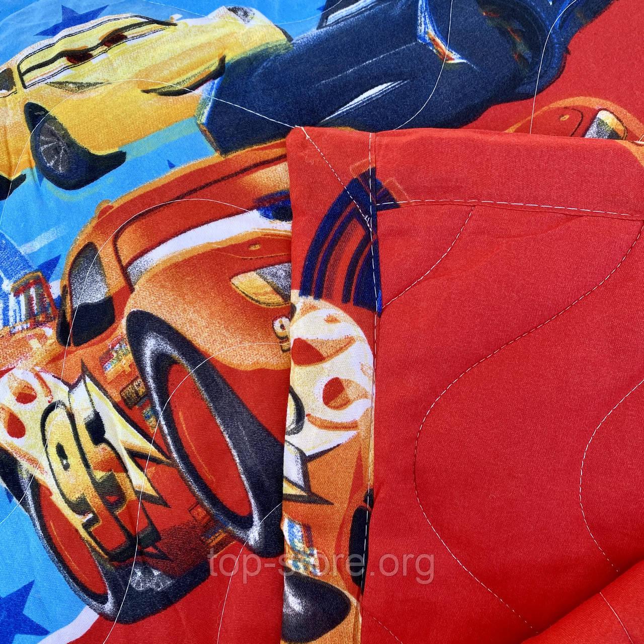 Покрывало одеяло стеганое на кровать или диван  Koloco 160*210см  с наволочками 50*70см Размер Полуторный
