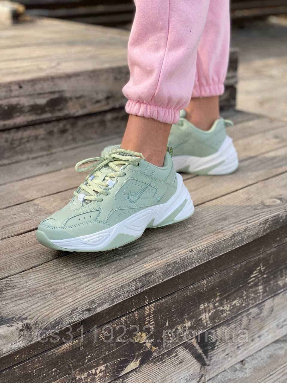 Женские кроссовки Nike M2K Tekno Green(мята)