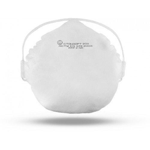 Протиаерозольна фільтруюча напівмаска з іншим ступенем захисту без клапана видиху стандарт 203