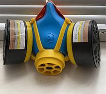 Респіратор пило-газо-захисний РУ-60М з фільтрами марки А1В1