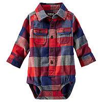 Боди-рубашка OshKosh. 6, 9 месяцев