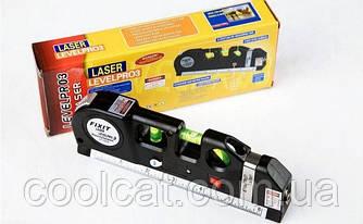 Лазерный нивелир, Лазерный уровень со встроенной рулеткой LASER LEVELPRO3