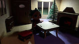 Кукольный домик для куклы Лол венге с подсветкой + Мебель в ПОДАРОК! 30см×23см, фото 5