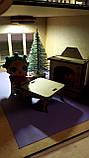 Кукольный домик для куклы Лол венге с подсветкой + Мебель в ПОДАРОК! 30см×23см, фото 6