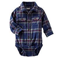 Боди-рубашка OshKosh. 6, 12 месяцев