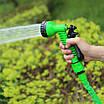 Шланг поливочный растягивающийся MAGIC HOSE 30м/100ft Зеленый, фото 5