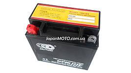 Аккумулятор 9А 12V (YT9) ENDURO (Japan Tech) гелевый 135x75x139 черный