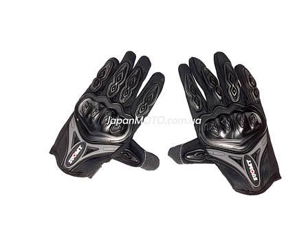 Перчатки SUOMY (size: M, черно-грифельные), фото 2
