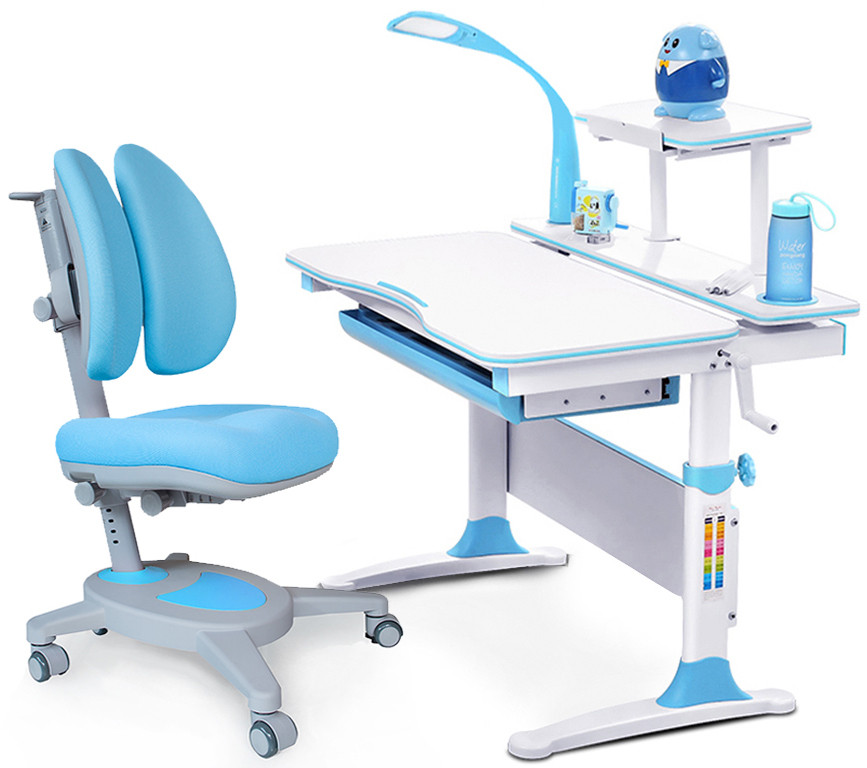 Комплект парта Evo-kids Evo-30 BL + кресло Y-115 KBL
