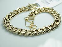 Эффектный позолоченный массивный браслет для женщин. Элитные украшения на руку Xuping оптом и в розницу. 21