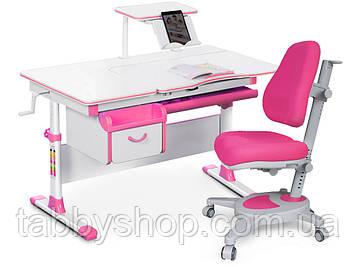 Комплект парта Evo-kids Evo-40 PN + кресло Y-110 KP