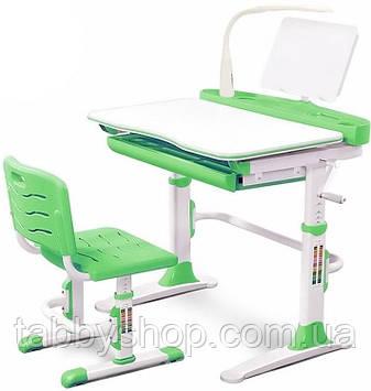 Комплект парта і стільчик Evo-Evo kids-19 Z Green