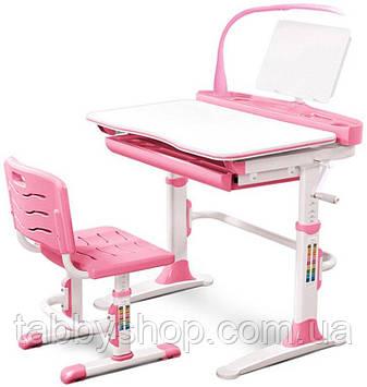 Комплект парта і стільчик Evo-Evo kids-19 PN Pink
