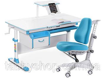 Комплект парта Evo-kids Evo-40 BL + кресло Y-528 KBL