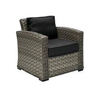 Кресло Женева, кресло плетеное, кресло из искусственного ротанга
