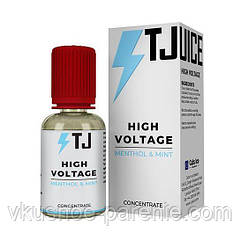 Ароматизатор T-juice High Voltage Concentrate 30 мл (Вишня Ментол)