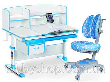 Комплект парта Evo-kids Evo-50 BL + крісло Y-115 ABK