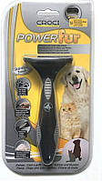 Грабли для вычесывания подшерстка лап (Фурминатор) Croci Power Fur для котов/собак 4,5см