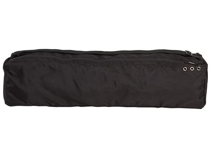 Сумка чехол для йога-мата коврика Crivit Yoga bag  черная