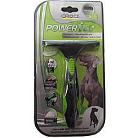 Грабли для вычесывания подшерстка лап (Фурминатор) Croci Power Fur для короткошерстных собак 9,8см