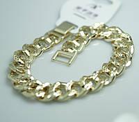 Стильные позолоченный браслет для женщин. Эффектные украшения на руку Xuping оптом и в розницу. 23