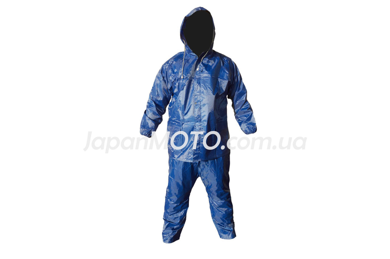 Костюм дощовик для їзди на скутері (синій, L) Q