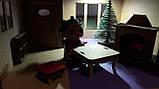 Ляльковий будиночок для ляльки Лол бежевий + Меблі в ПОДАРУНОК! 30см × 23см, фото 6