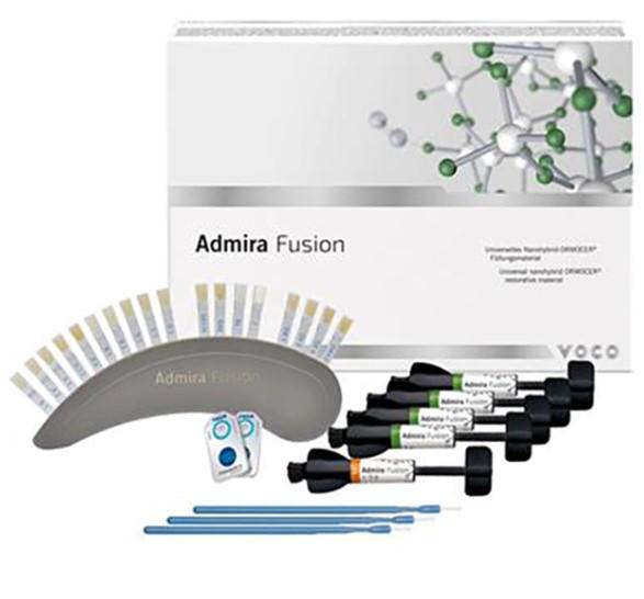 Admira Fusion VOCO набір (5х3г) ормокер наногібрид