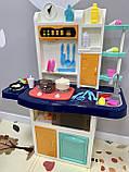 Кухня интерактивная с водой 922-107 XXL розовая, фото 3