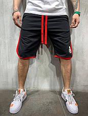 Шорты мужские по колено, цвета: красный, чёрный, белый, серый, жёлтый., фото 3