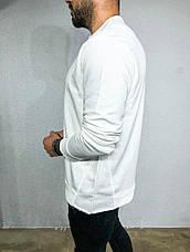 Крутейший мужской лонгслив однотонный, цвета: чёрный, серый, белый, фото 2