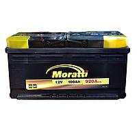 Автомобильный аккумулятор MORATTI  6ct-100a3