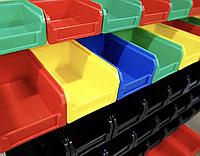 Стелажі метизні для пластикових ящиків під метиз купити в Тернополі