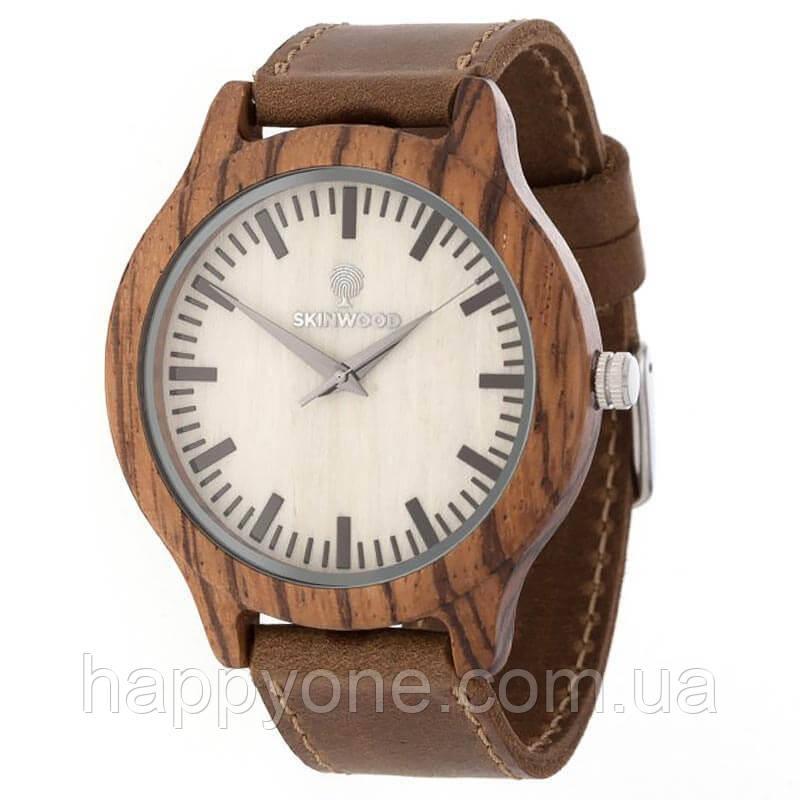 Дерев'яні наручні годинники Zebra