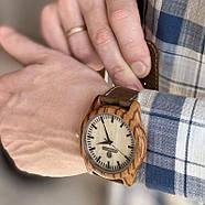 Дерев'яні наручні годинники Zebra, фото 8